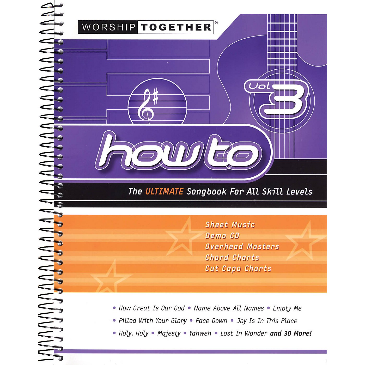 Worship Together How To - Vol. 3 (The Ultimate Songbook for All Skill Levels) Sacred Folio Series Softcover with CD thumbnail