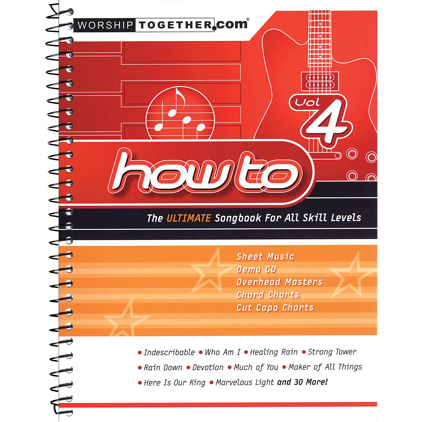 Hal Leonard How To - Vol. 4 (The Ultimate Songbook for All Skill Levels) Sacred Folio Series Softcover by Various thumbnail