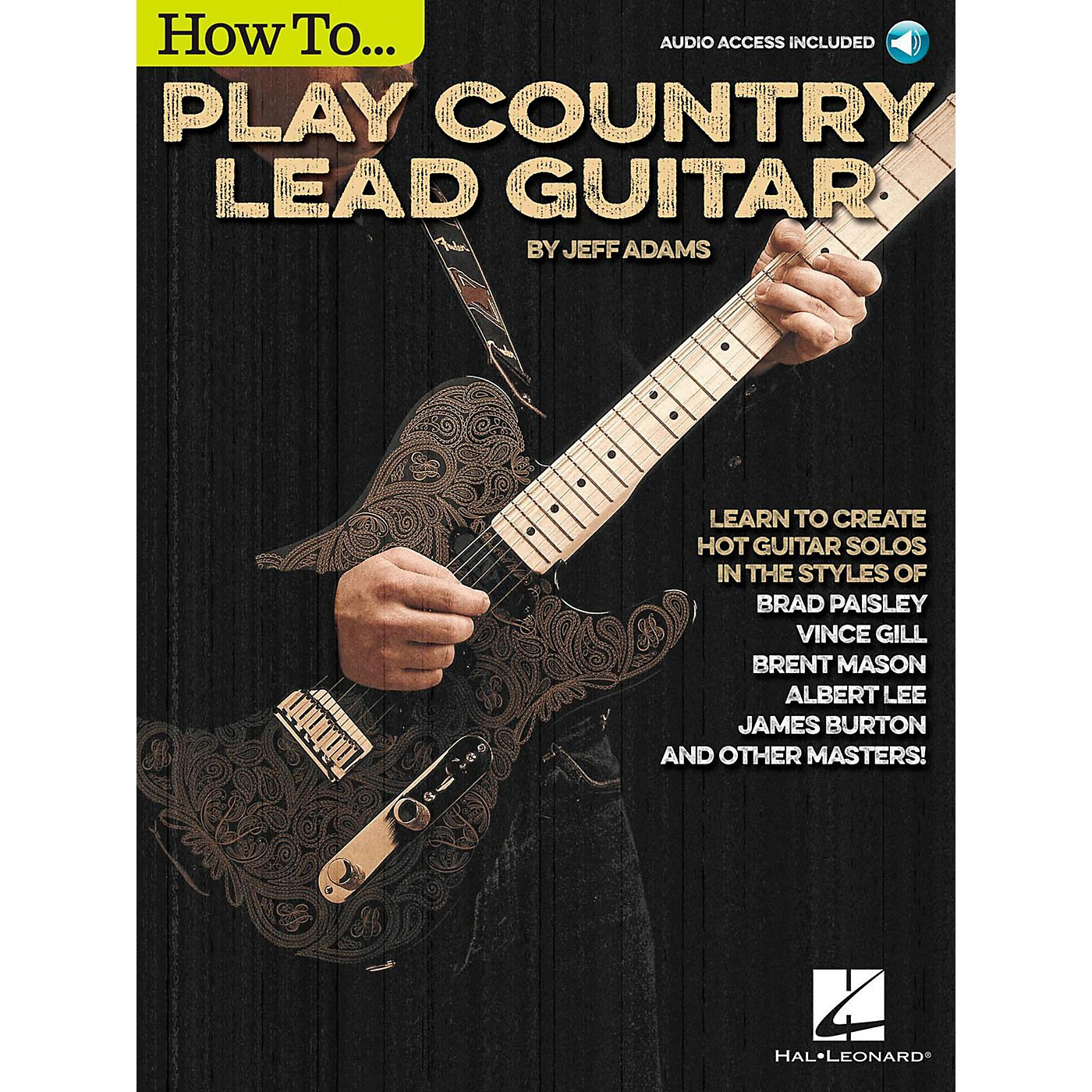 Hal Leonard How To Play Country Lead Guitar - Book/Audio Online thumbnail