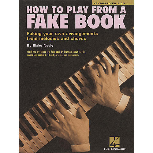 Hal Leonard How To Play From a Fake Book for Keyboard thumbnail