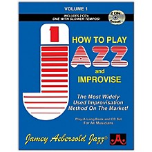 Jamey Aebersold How To Play Jazz and Improvise Book and CD