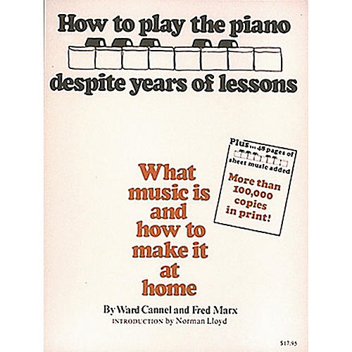 Hal Leonard How To Play Piano Despite Years of Lessons - Book thumbnail