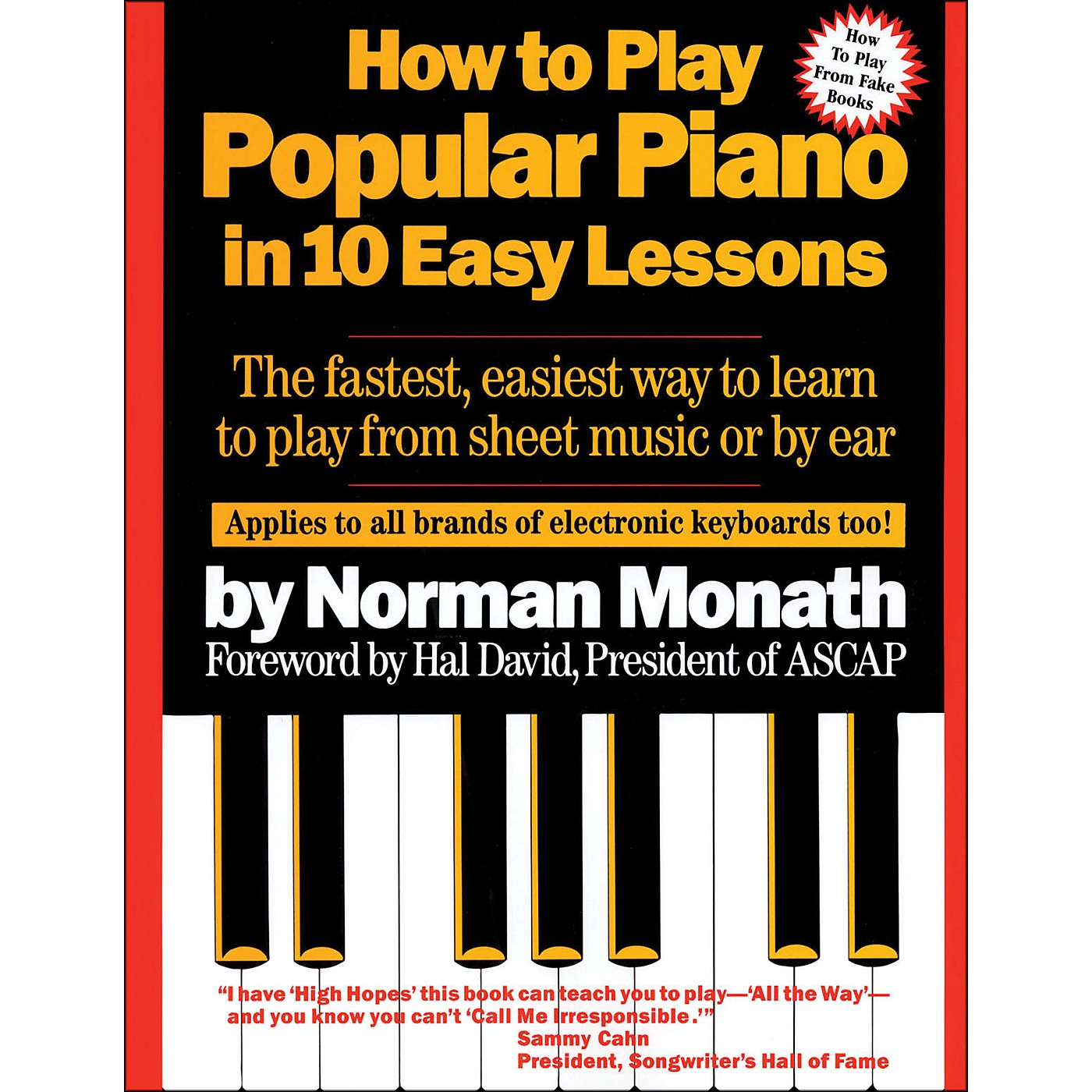 Hal Leonard How To Play Popular Piano In Ten Easy Lessons thumbnail