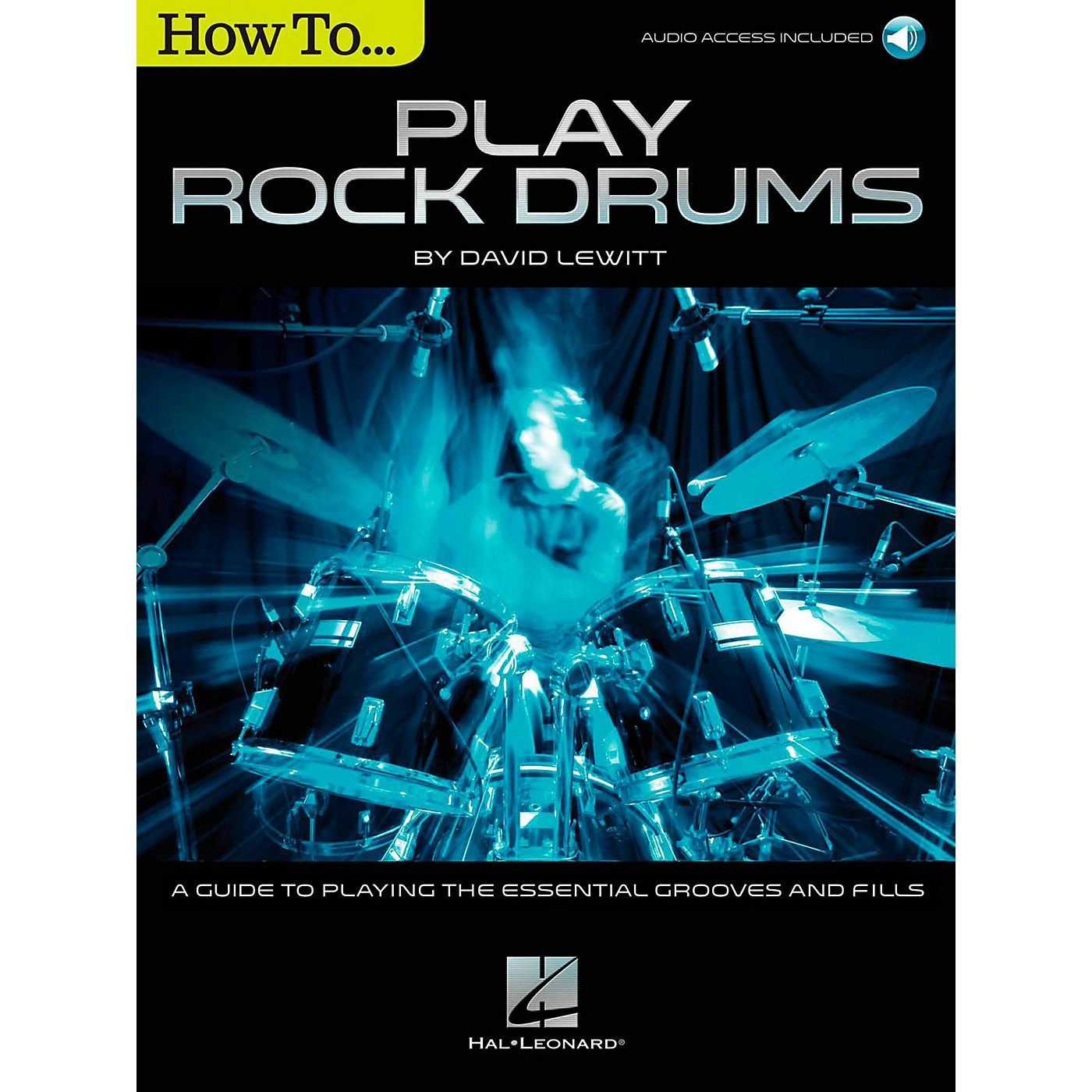 Hal Leonard How To Play Rock Drums (Book/Online Audio) thumbnail
