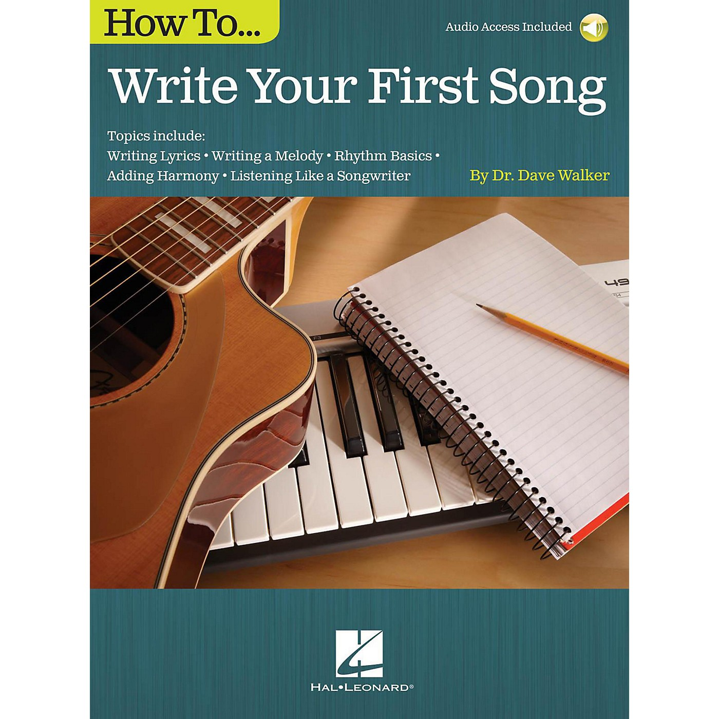 Hal Leonard How To Write Your First Song (Book/Online Audio) thumbnail