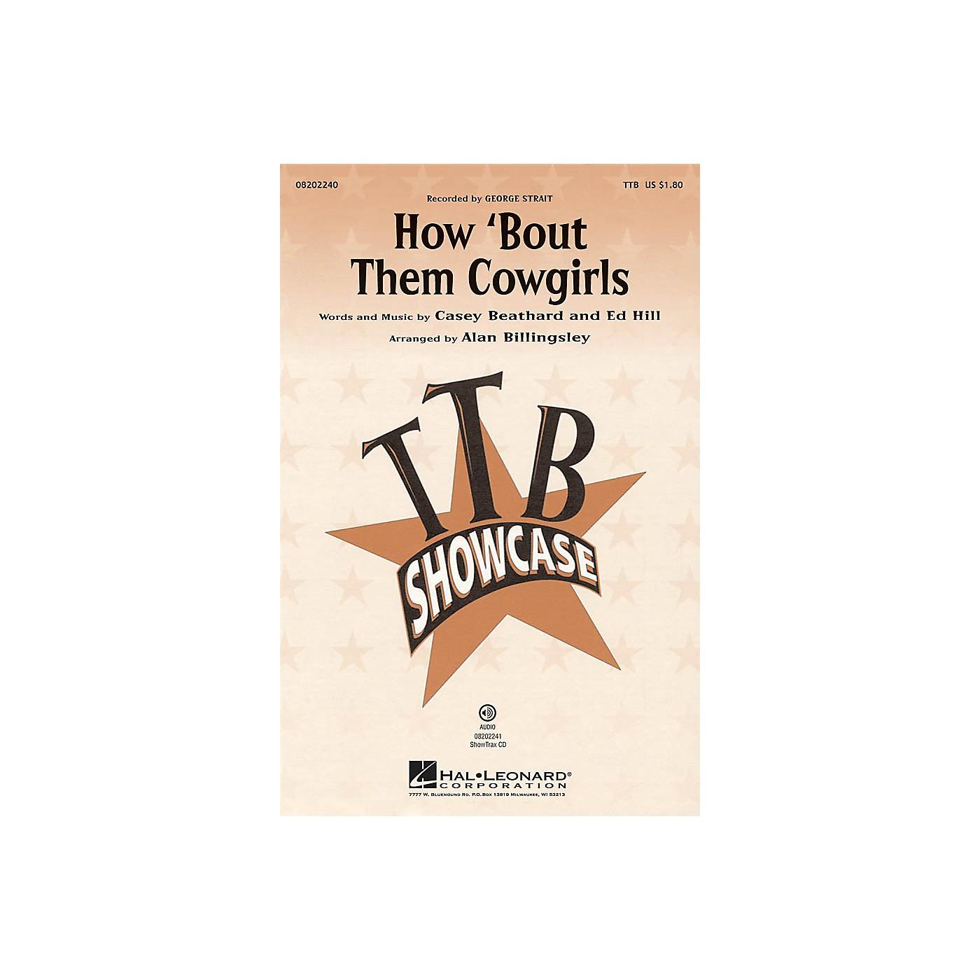 Hal Leonard How 'bout Them Cowgirls TTB arranged by Alan Billingsley thumbnail