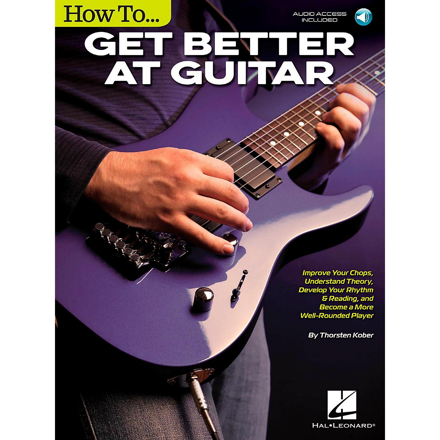 Hal Leonard How to Get Better at Guitar Book/Audio Online thumbnail
