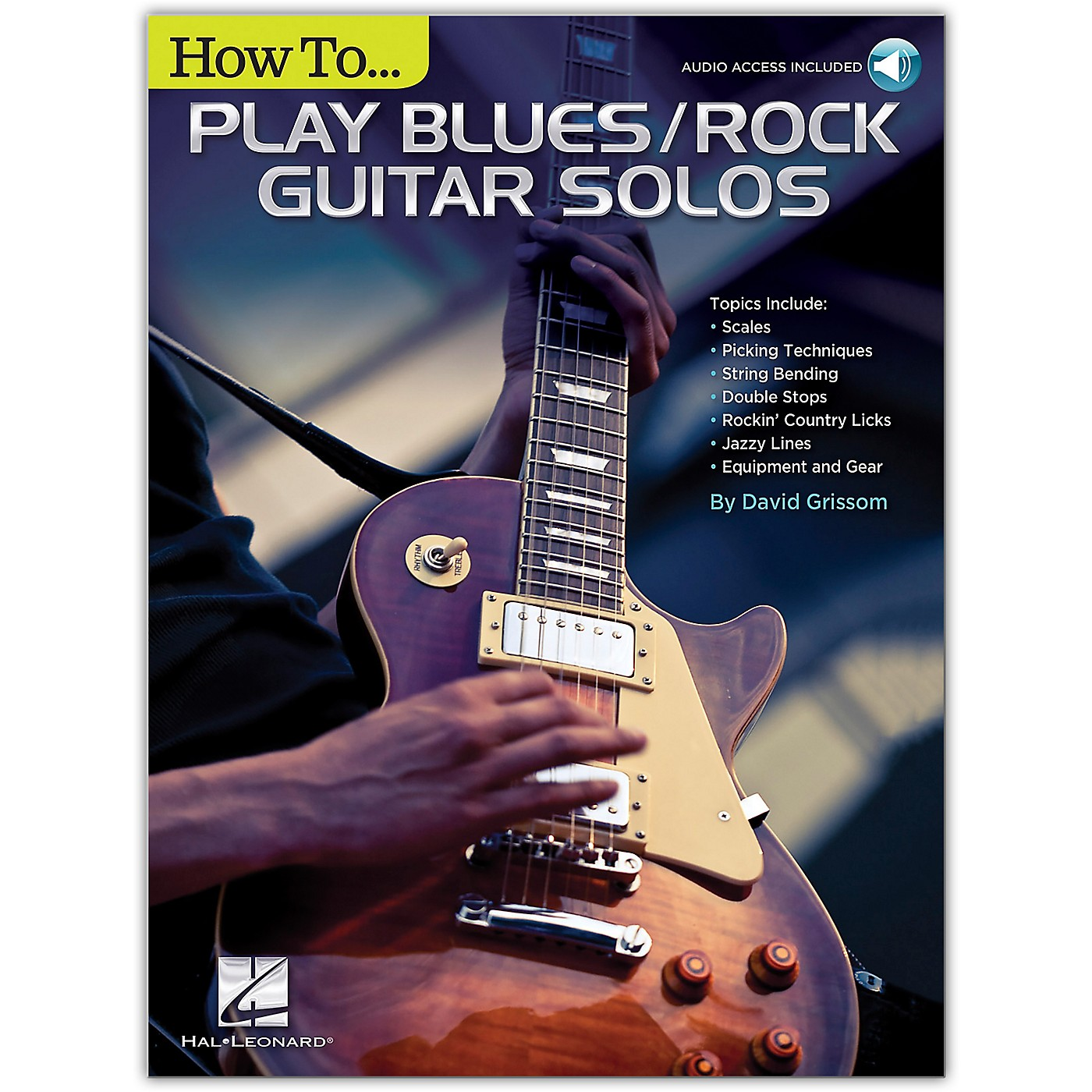 Hal Leonard How to Play Blues/Rock Guitar Solos Book/Audio Online thumbnail