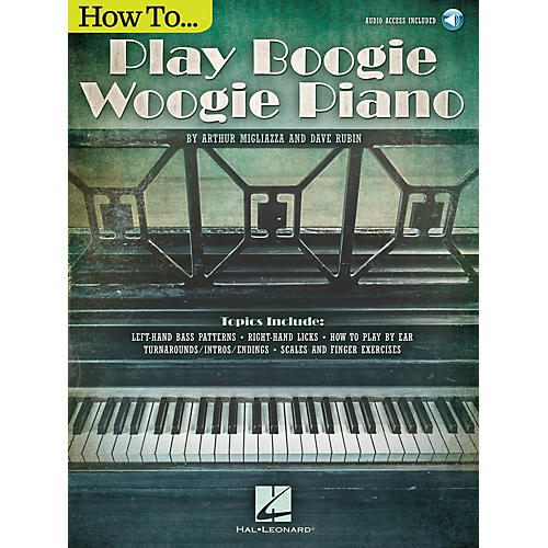 Hal Leonard How to Play Boogie Woogie Piano Keyboard Instruction Series Softcover Audio Online by Arthur Migliazza thumbnail