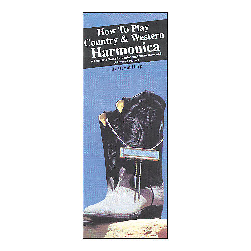 Music Sales How to Play Country and Western Harmonica (Book) thumbnail