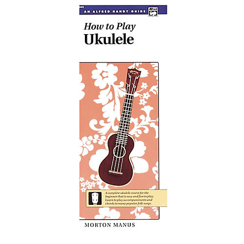 Alfred How to Play Ukulele Book-thumbnail