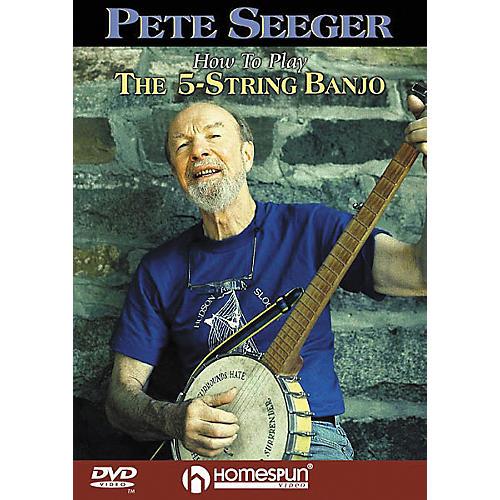 Homespun How to Play the 5-String Banjo (DVD) thumbnail