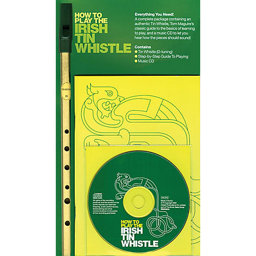 Music Sales How to Play the Irish Tin Whistle Music Sales America Series Softcover with CD thumbnail