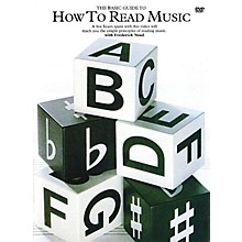 Music Sales How to Read Music Music Sales America Series DVD Written by Frederick M. Noad