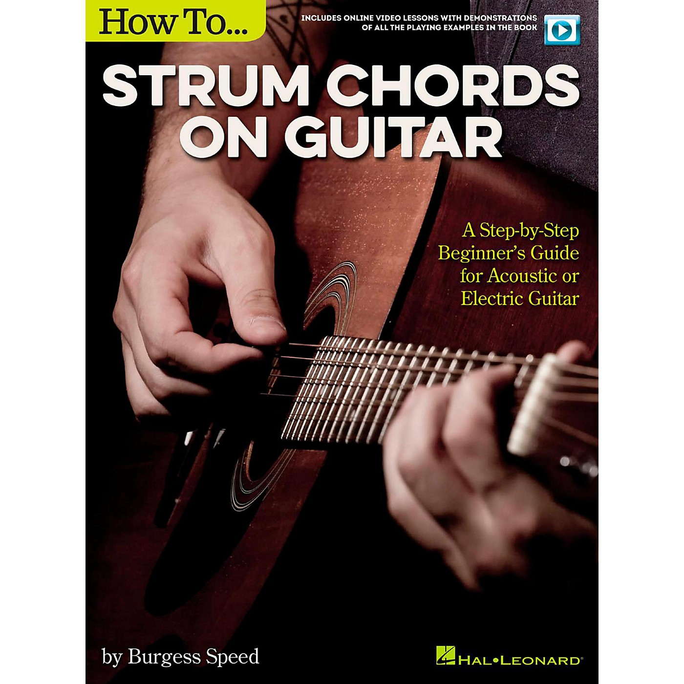 Hal Leonard How to Strum Chords on Guitar (Book/Video Online) thumbnail