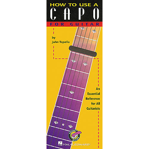 Hal Leonard How to Use a Capo for Guitar Book-thumbnail
