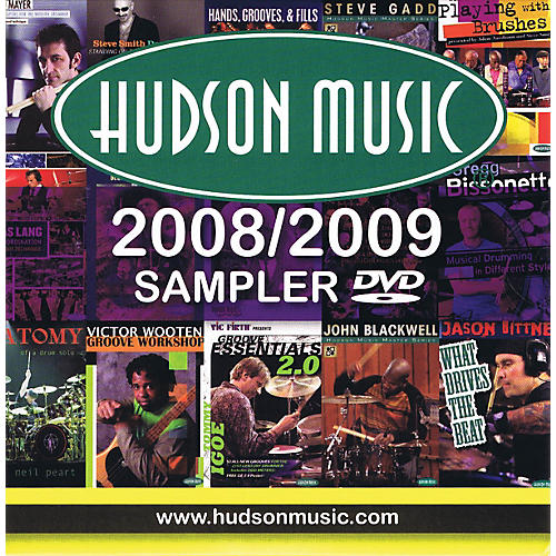 Hudson Music Hudson DVD Sampler (The Finest Multimedia for Musicians) Instructional/Drum/DVD Series DVD by Various thumbnail