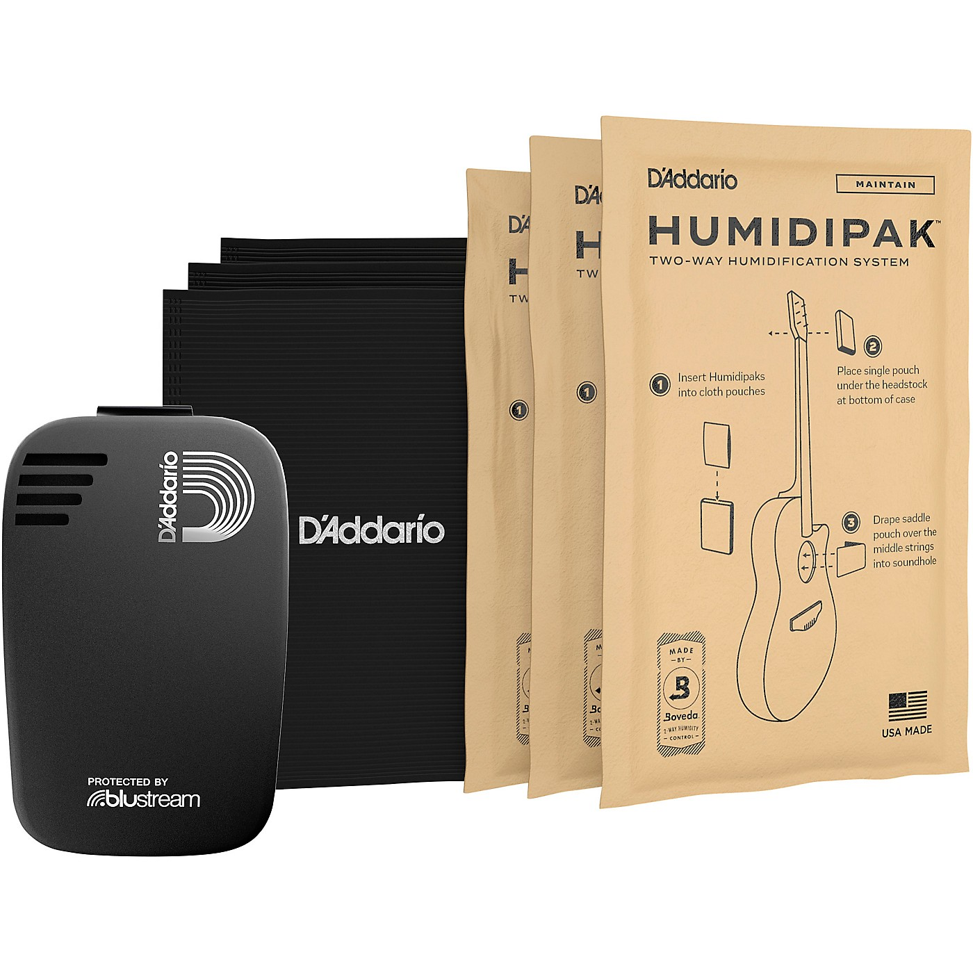 D'Addario Planet Waves Humidikit - Humiditrak / Humidipak Bundle thumbnail