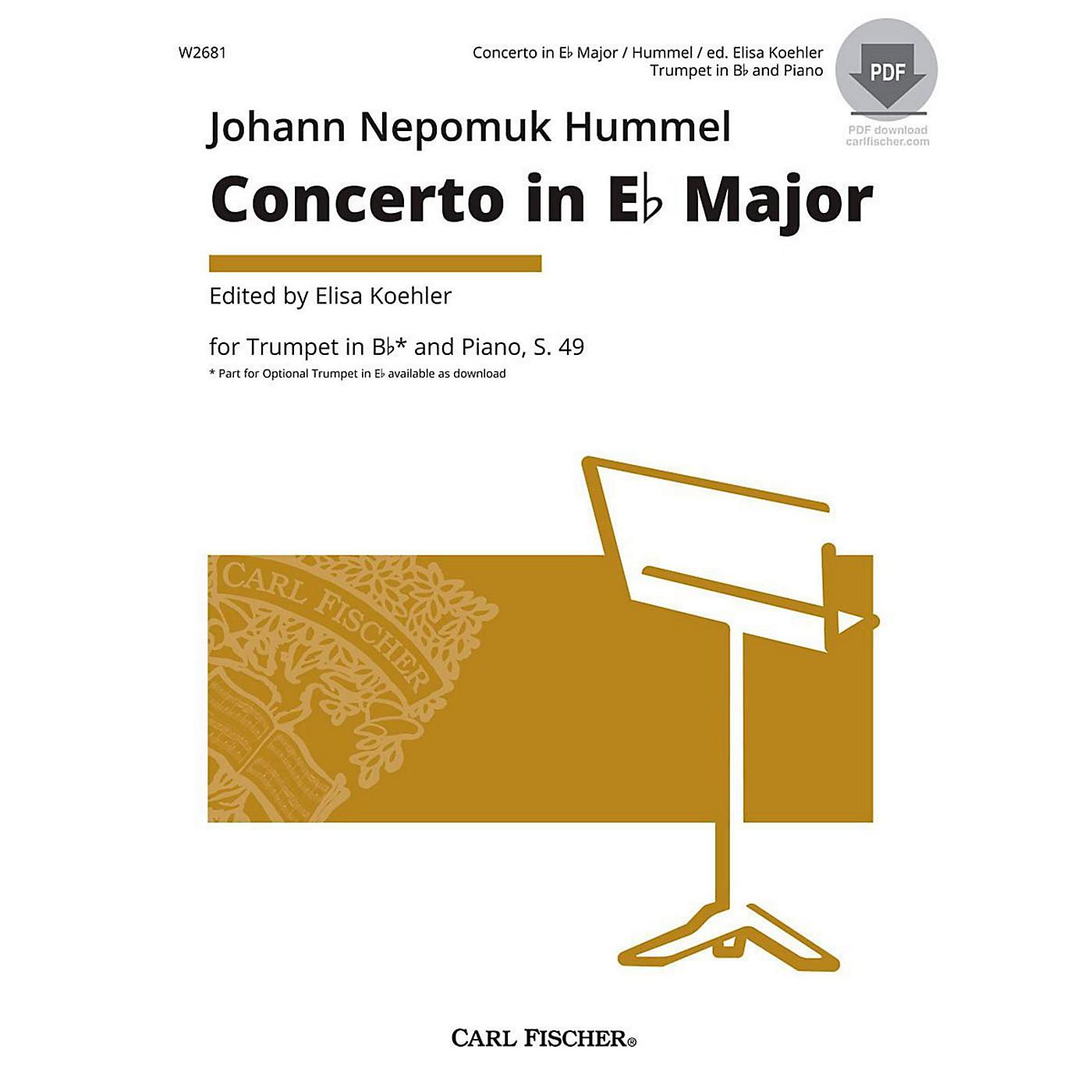 Carl Fischer Hummel Trumpet Concerto thumbnail