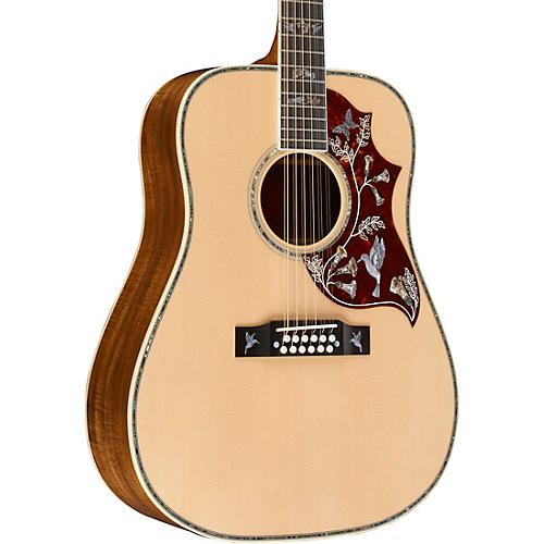 gibson hummingbird custom 12 string acoustic electric guitar woodwind brasswind. Black Bedroom Furniture Sets. Home Design Ideas