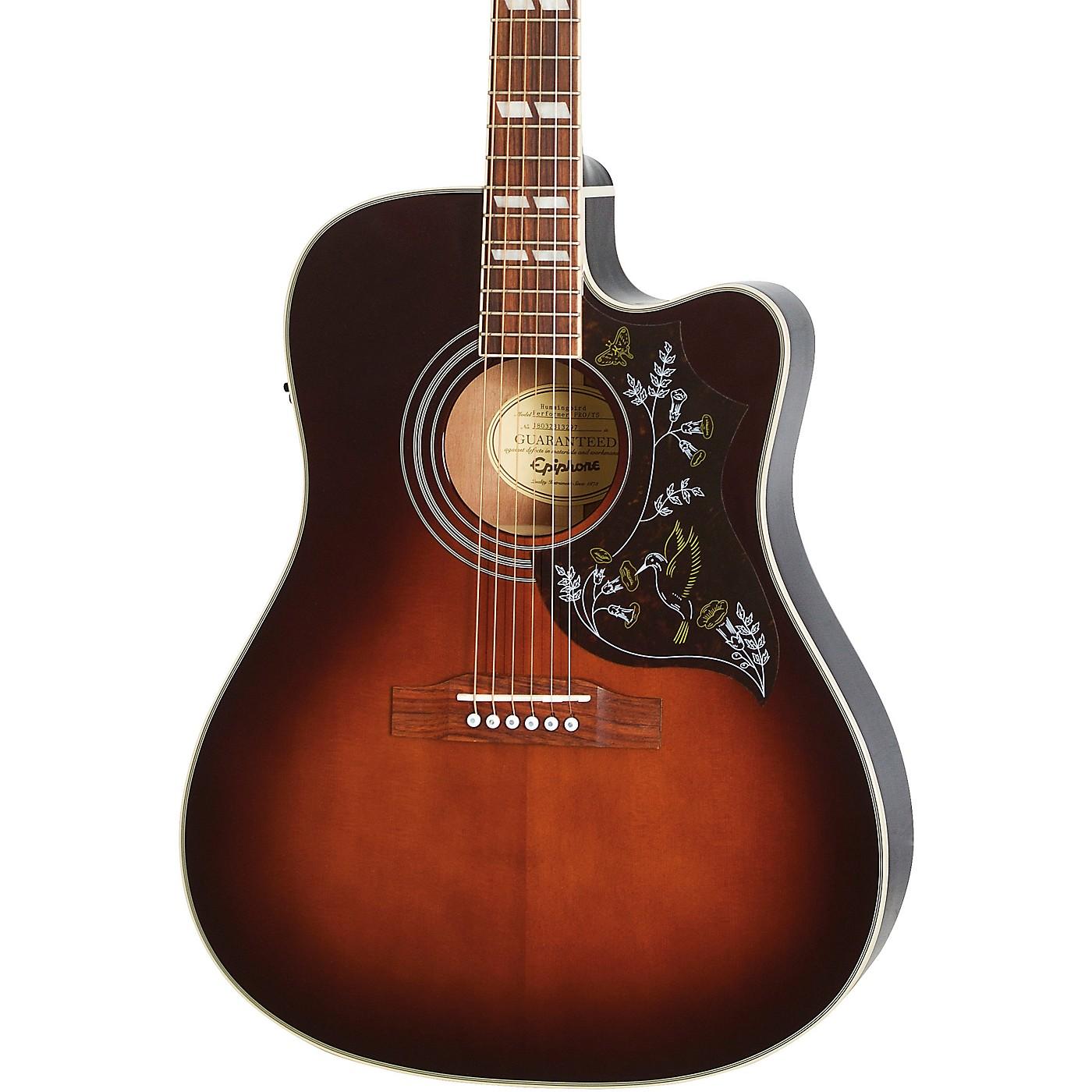 Epiphone Hummingbird EC Studio Limited-Edition Acoustic-Electric Guitar thumbnail