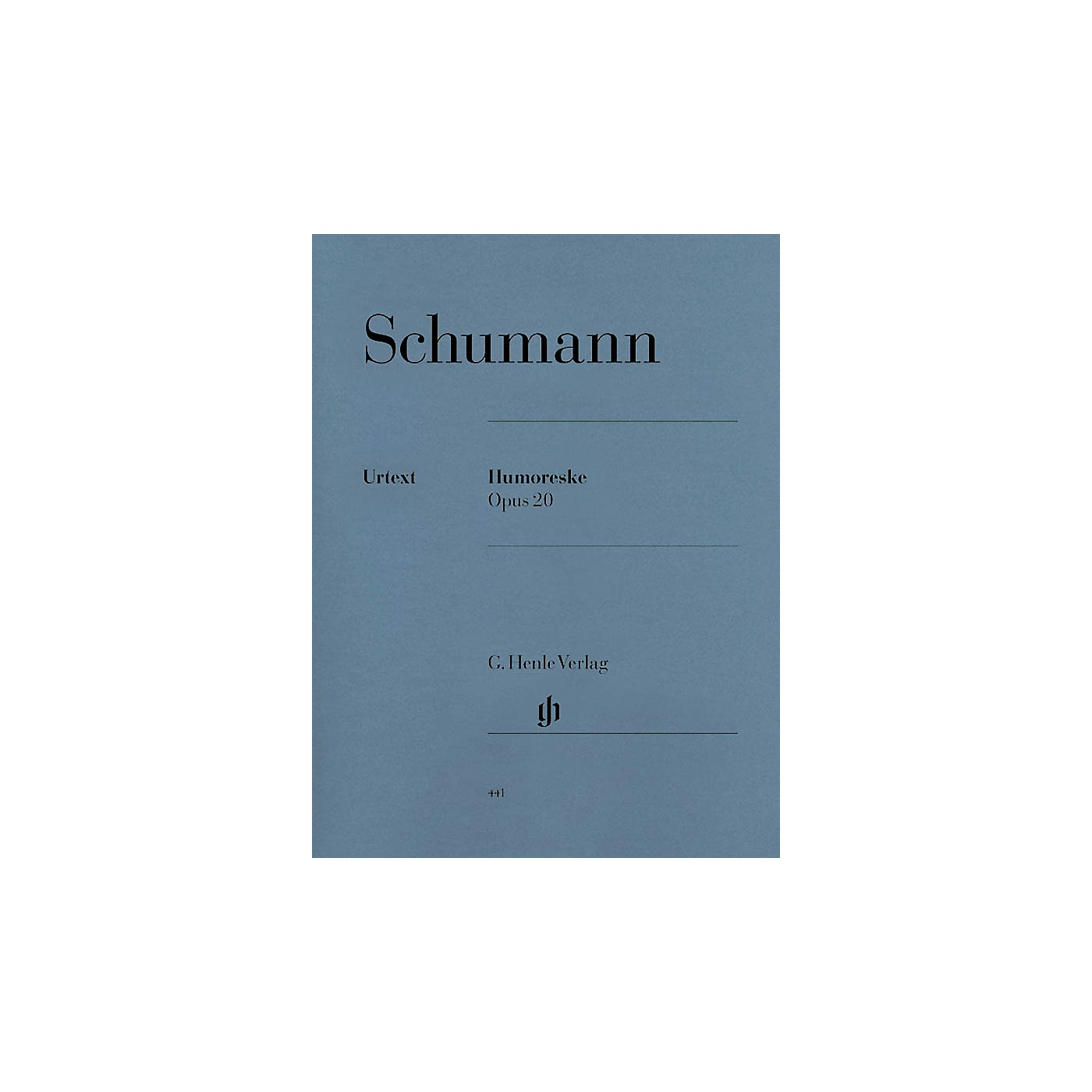 G. Henle Verlag Humoresque in B-flat Major, Op. 20 (Revised Edition) Henle Music Folios Series Softcover thumbnail