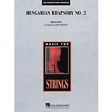 Hal Leonard Hungarian Rhapsody No. 2 Music for String Orchestra Series Softcover Arranged by Jamin Hoffman