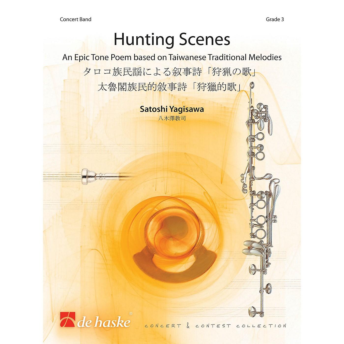 De Haske Music Hunting Scenes Concert Band Level 4 Composed by Satoshi Yagisawa thumbnail