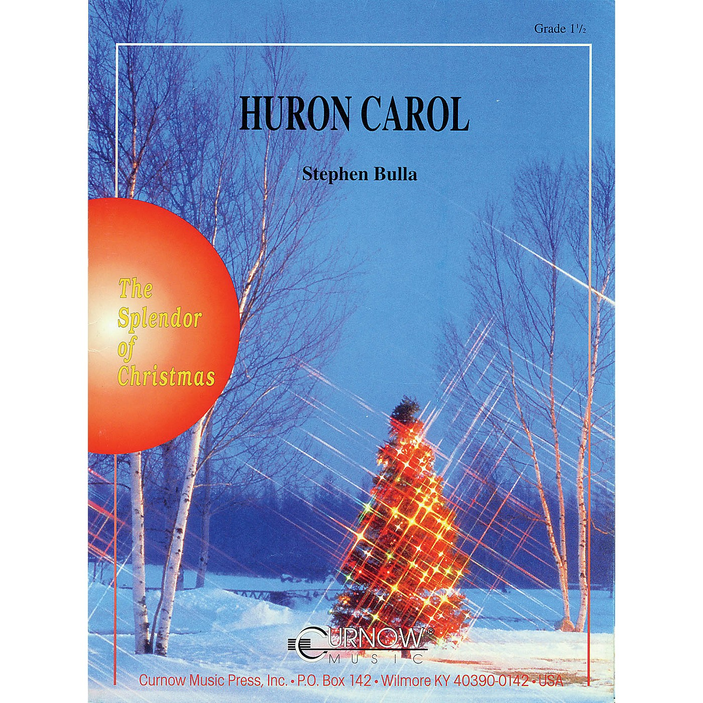 Curnow Music Huron Carol (Grade 1.5 - Score Only) Concert Band Level 1.5 Arranged by Stephen Bulla thumbnail