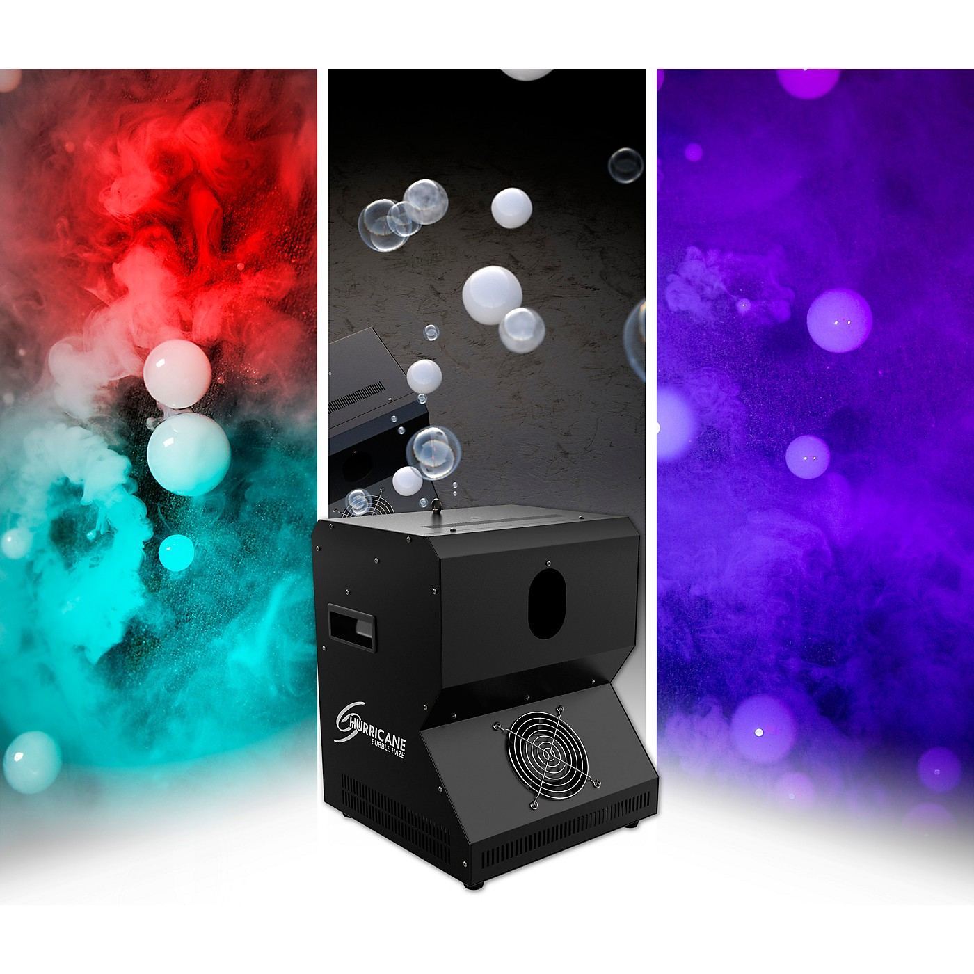 CHAUVET DJ Hurricane Bubble Haze Machine thumbnail