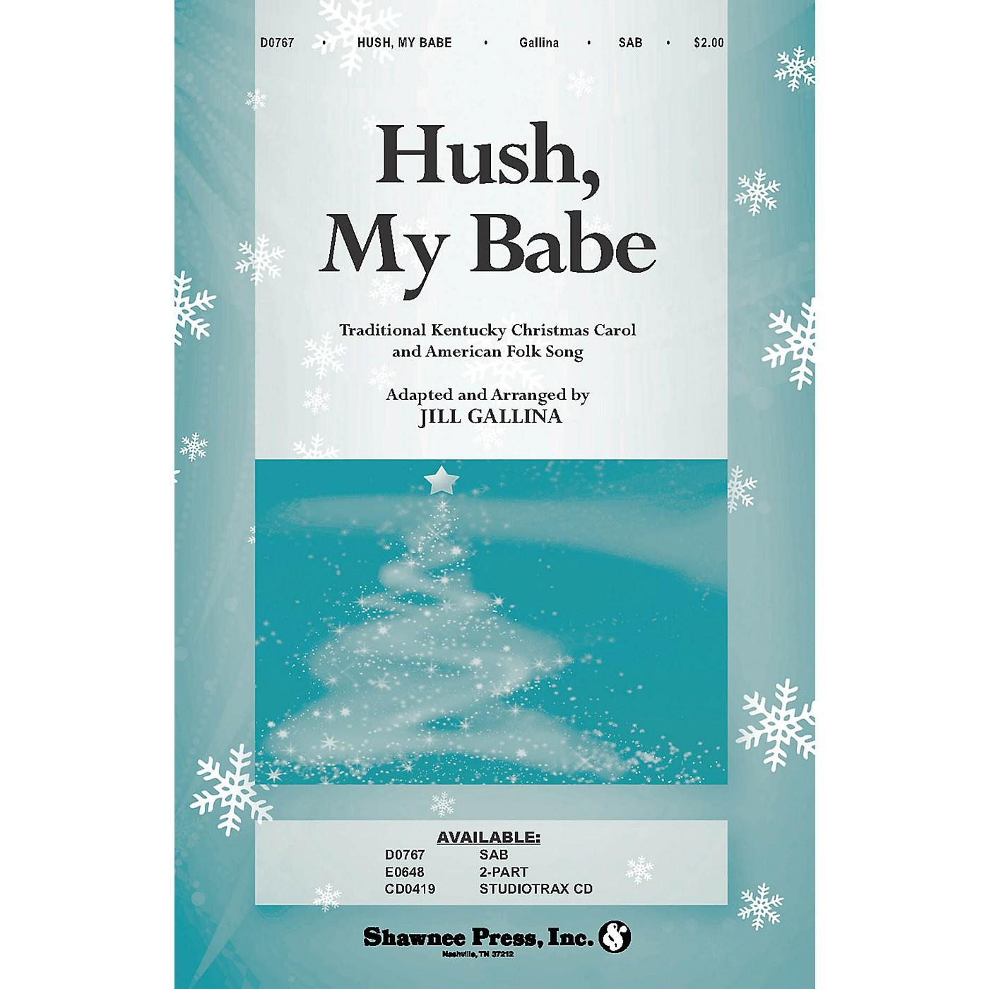 Shawnee Press Hush, My Babe SAB arranged by Jill Gallina thumbnail