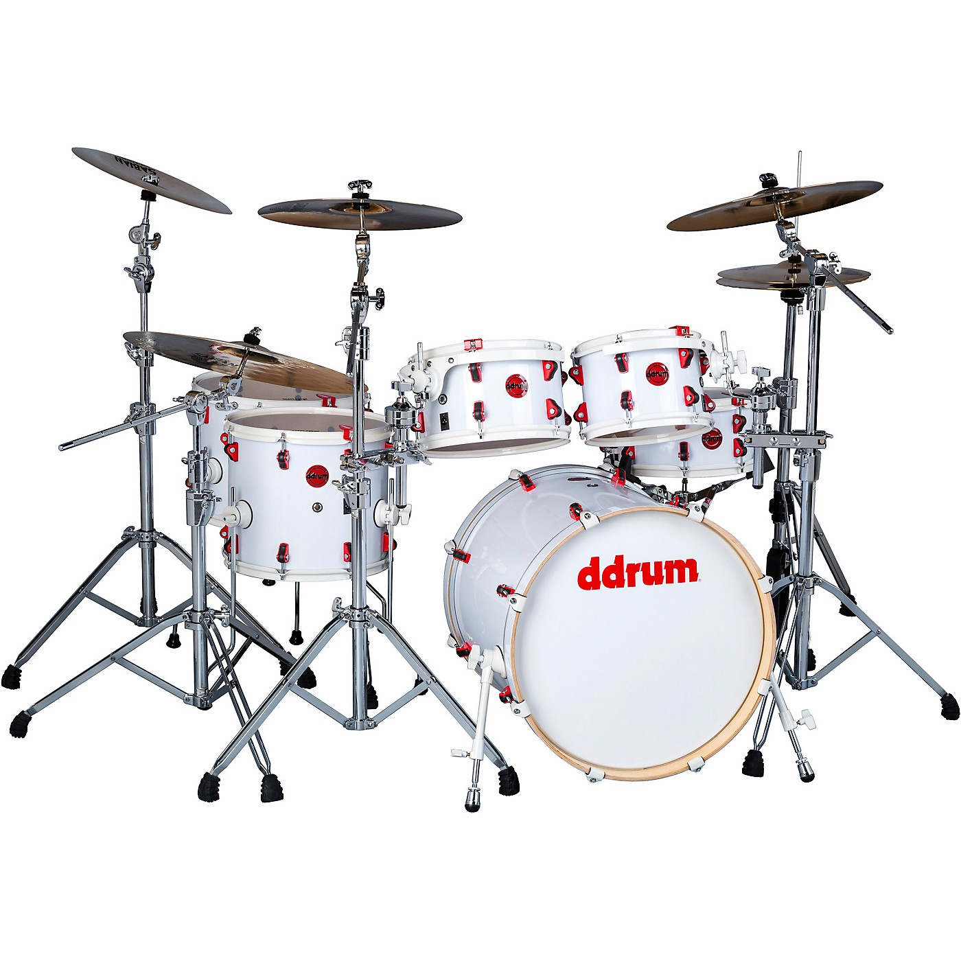 ddrum Hybrid Acoustic/Electric 6-piece Shell Pack thumbnail