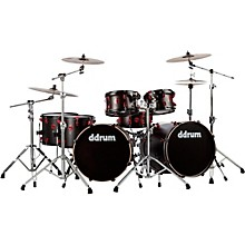 Ddrum Hybrid Acoustic/Electric 7-piece Double Bass Shell Pack