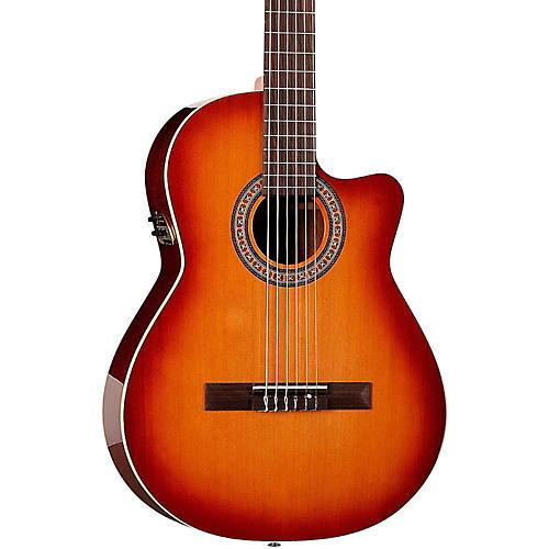 La Patrie Hybrid CW Nylon-String Acoustic-Electric Guitar-thumbnail