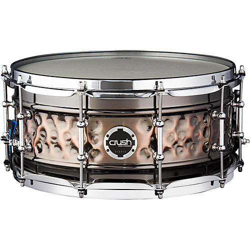 Crush Drums & Percussion Hybrid Hand Hammered Steel Snare Drum thumbnail