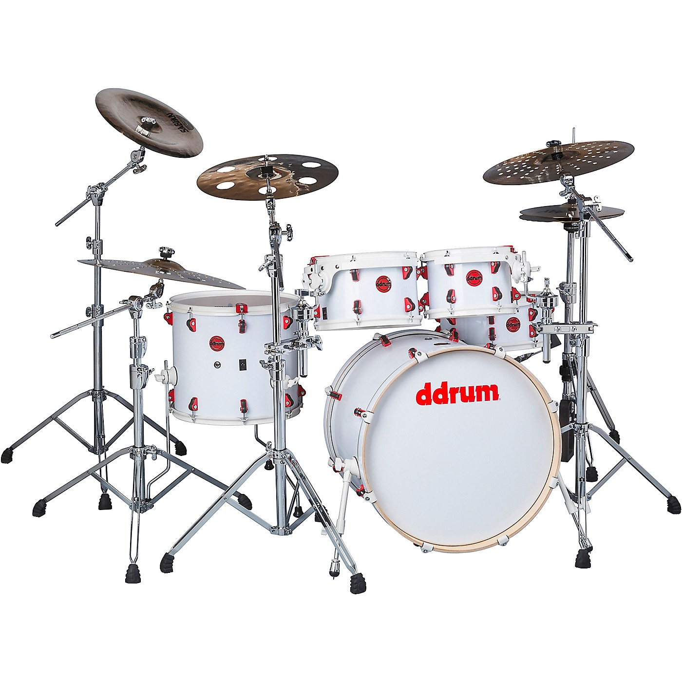 ddrum Hybrid Player 5-Piece Acoustic-Electric Shell Pack thumbnail