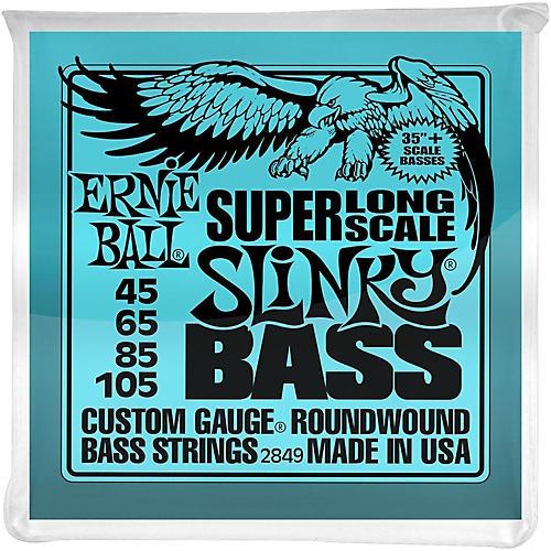Ernie Ball Hybrid Slinky Bass Strings Super Long Scale thumbnail