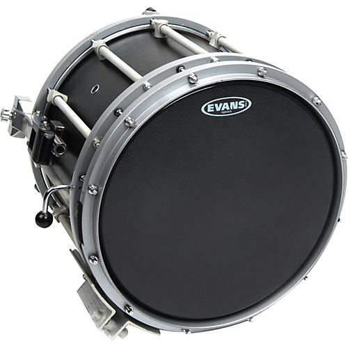 Evans Hybrid-Soft Marching Snare Drum Batter Head Black thumbnail