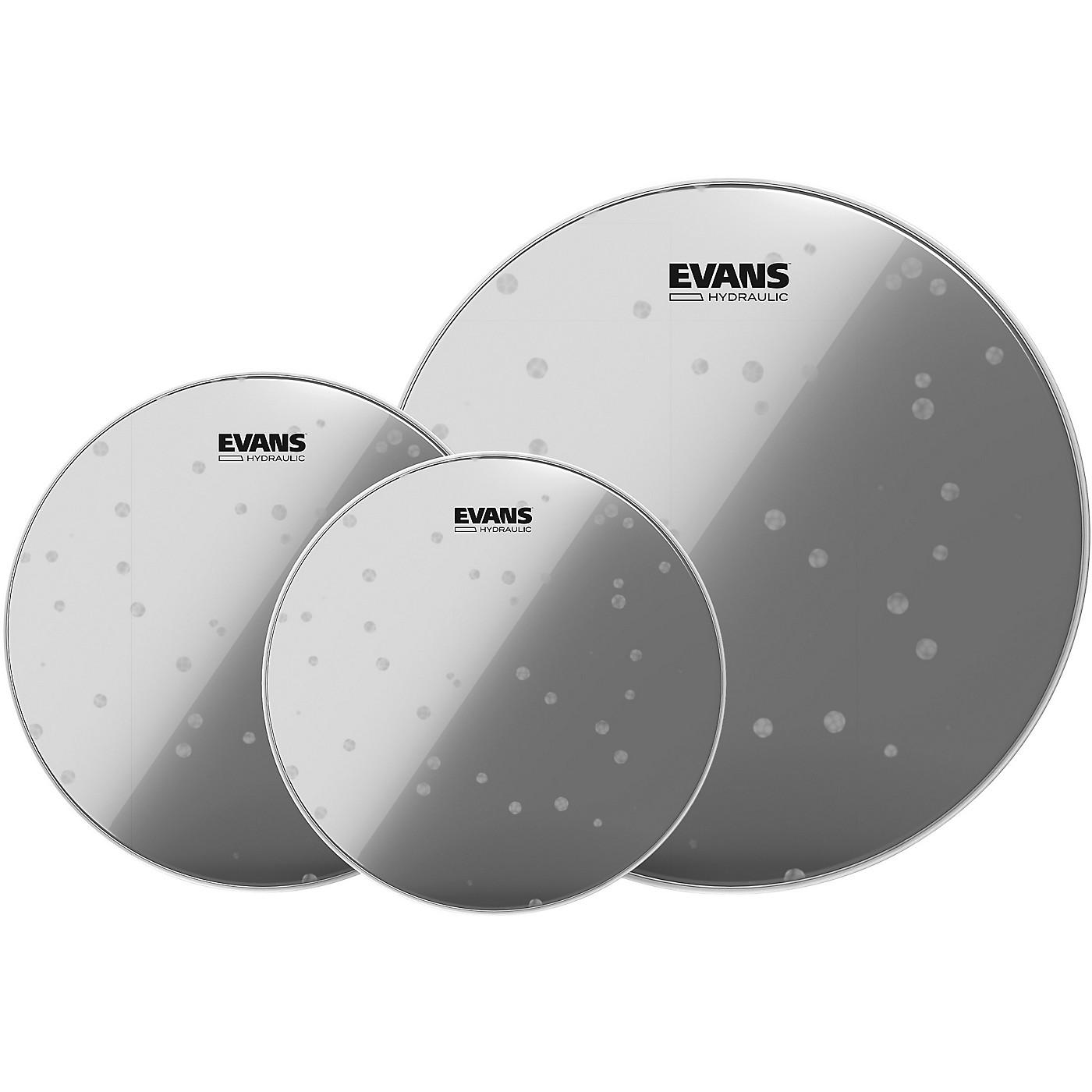 Evans Hydraulic Glass 12/13/16 Standard Drum Head Pack thumbnail