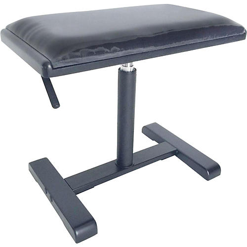 Stagg Hydraulic Piano Bench with Black Velvet Top thumbnail