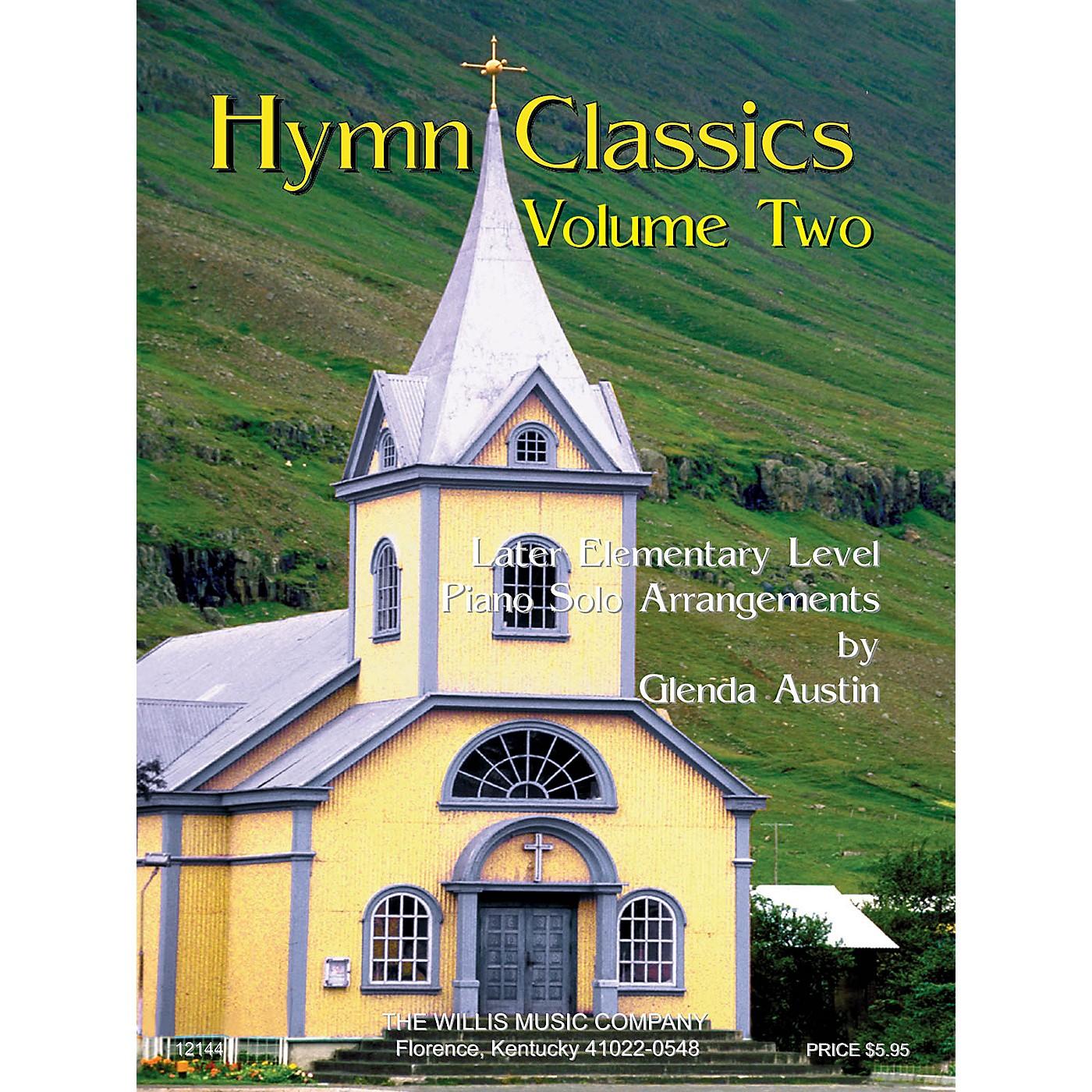 Willis Music Hymn Classics Volume 2 (Later Elem Level) Willis Series thumbnail