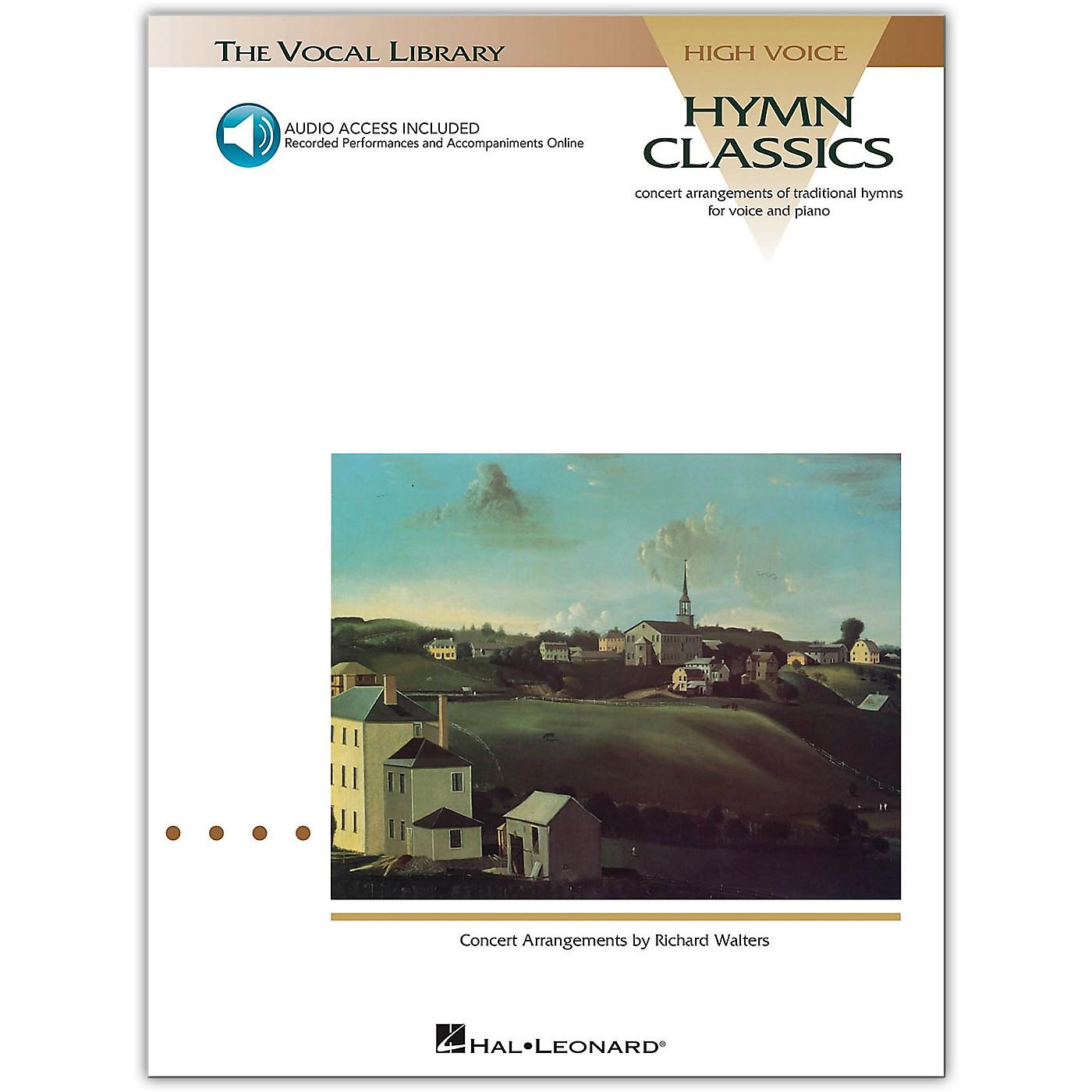 Hal Leonard Hymn Classics for High Voice (Book/Online Audio) thumbnail