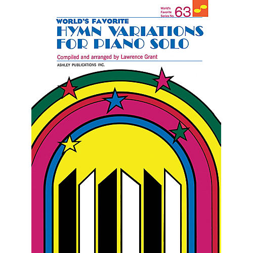 Ashley Publications Inc. Hymn Variations for Piano Solo (World's Favorite Series #63) World's Favorite (Ashley) Series Softcover thumbnail