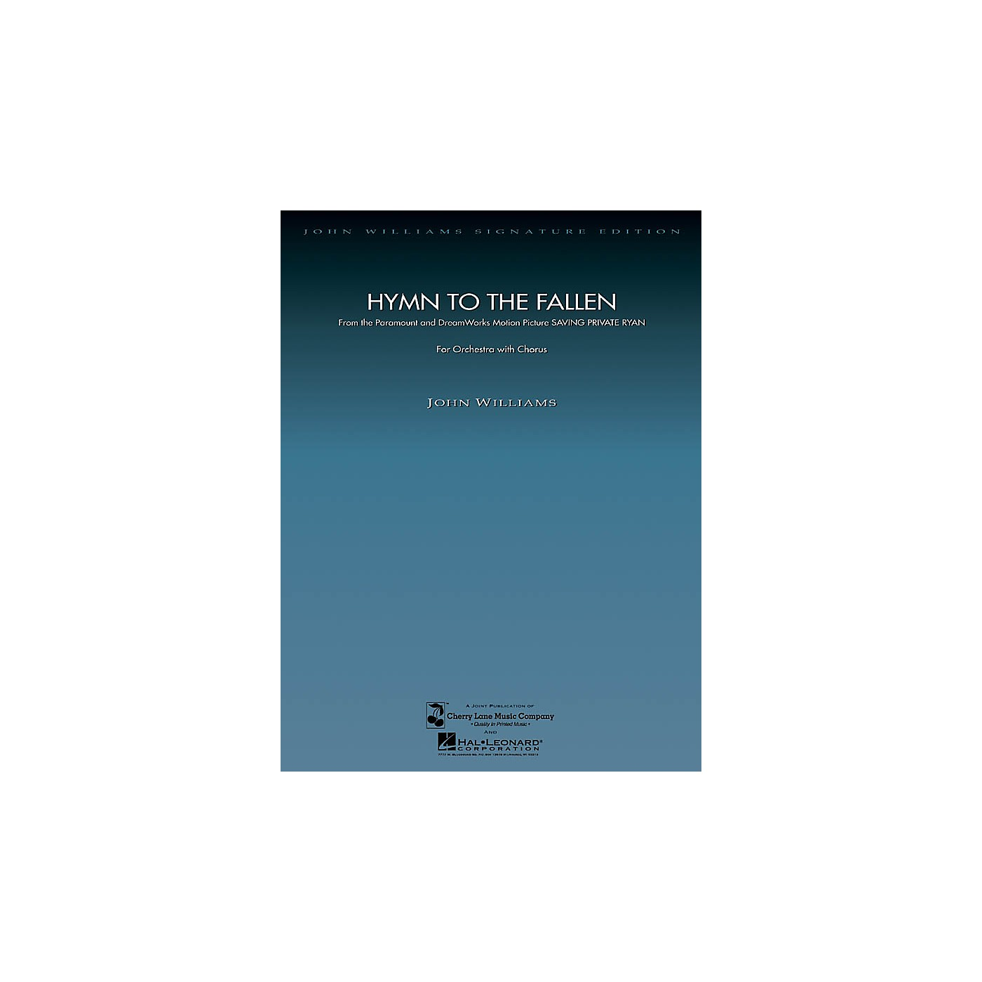 Hal Leonard Hymn to the Fallen (from Saving Private Ryan) (Score and Parts) Composed by John Williams thumbnail