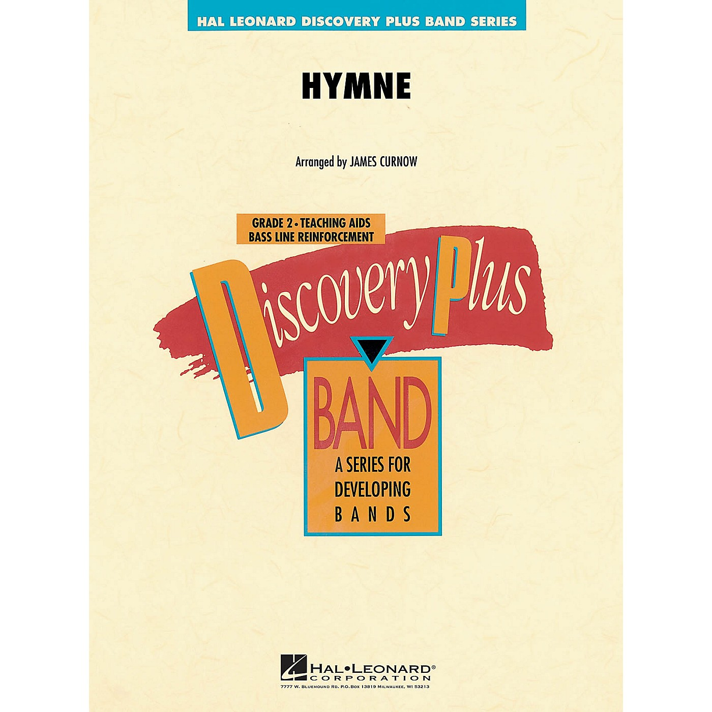 Hal Leonard Hymne - Discovery Plus Concert Band Series arranged by J Curnow thumbnail