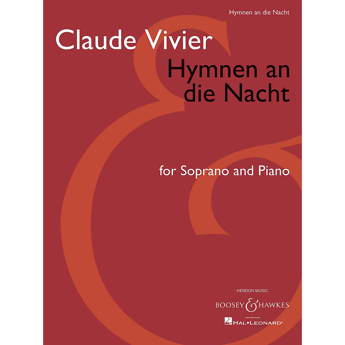 Boosey and Hawkes Hymnen an die Nacht (Score and Parts) Boosey & Hawkes Chamber Music Series Composed by Claude Vivier thumbnail