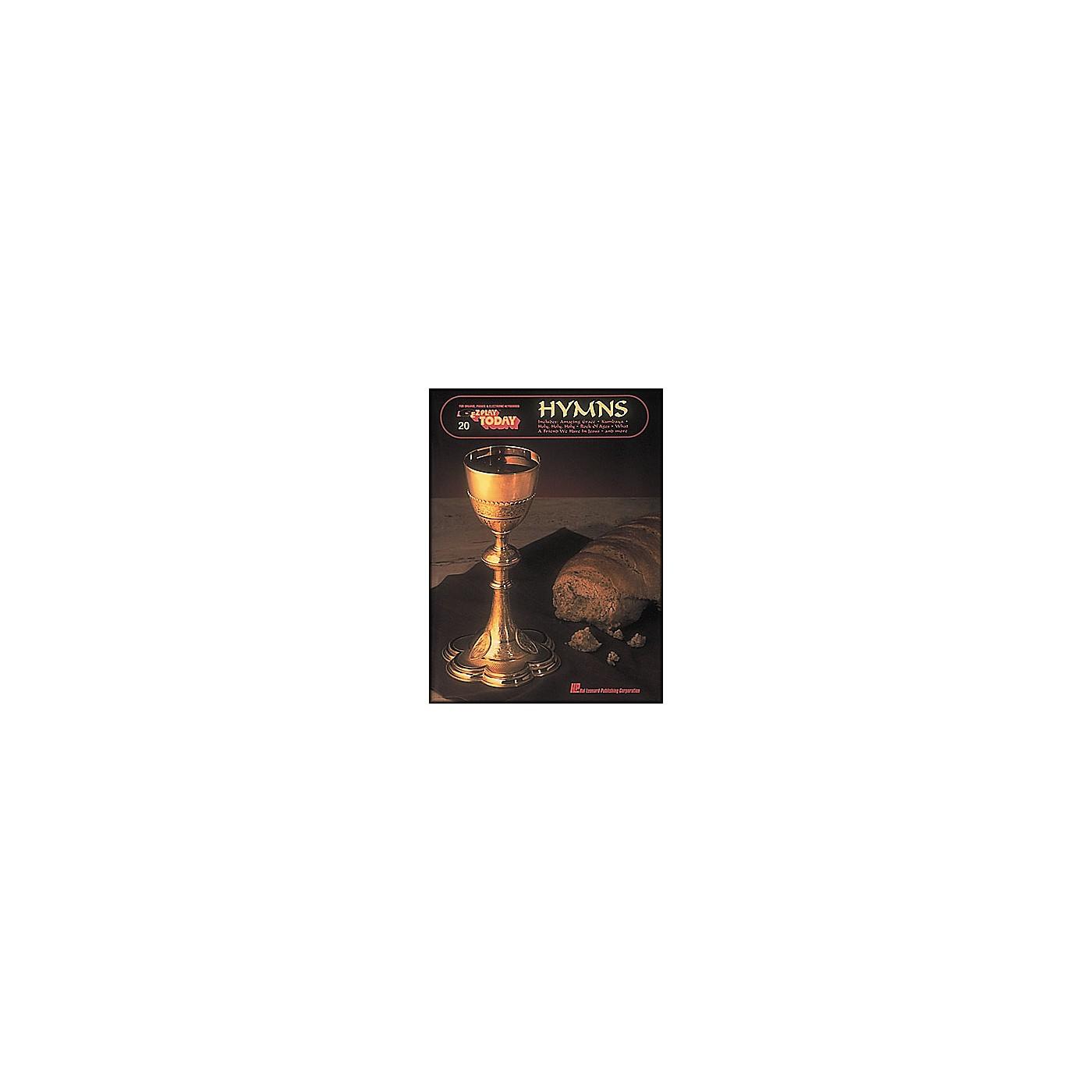 Hal Leonard Hymns E-Z Play 20 thumbnail