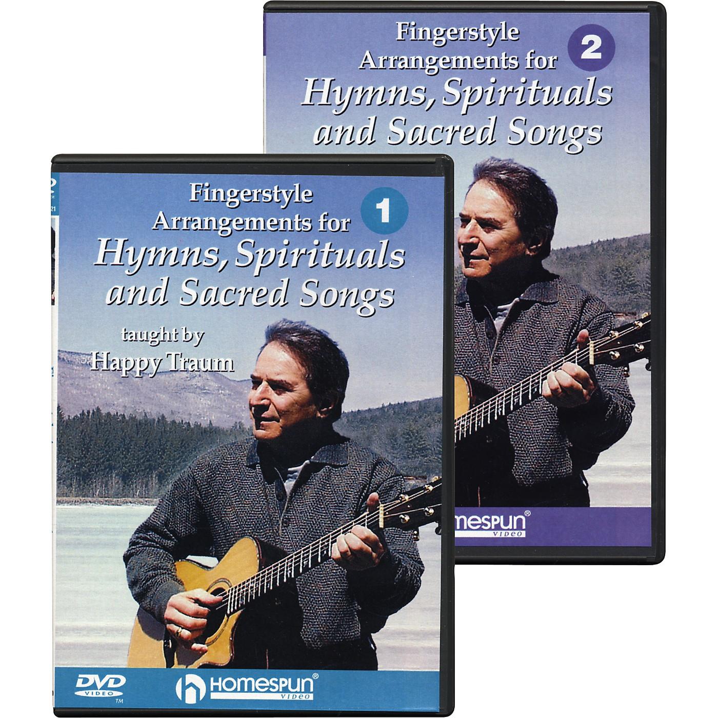 Homespun Hymns, Spirituals and Sacred Songs (2-DVD) thumbnail