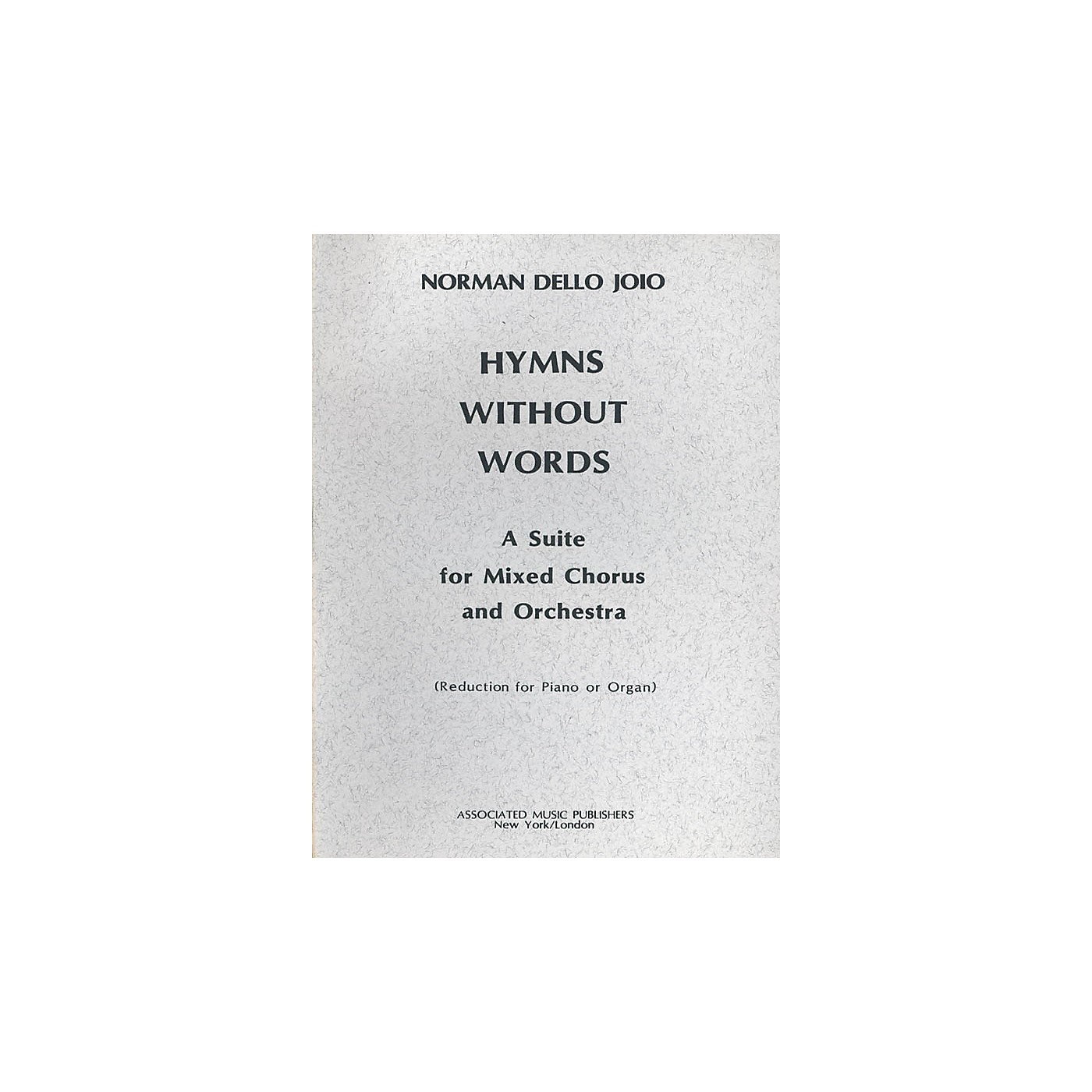 Associated Hymns Without Words (SATB) SATB composed by Norman Dello Joio thumbnail