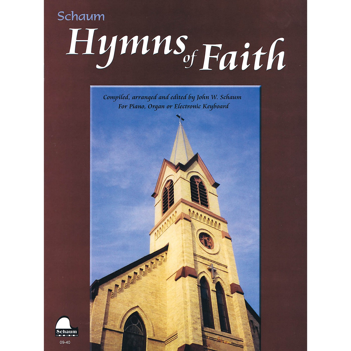 SCHAUM Hymns of Faith Educational Piano Series Softcover thumbnail